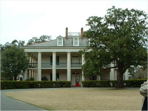 Old Southern Plantation Home