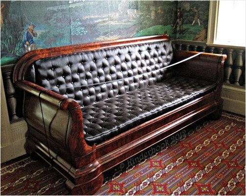 Convertible Sofa at Lindenwald