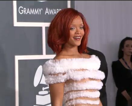rihanna 2011 pics. Rihanna#39;s 2011 Grammy Dress