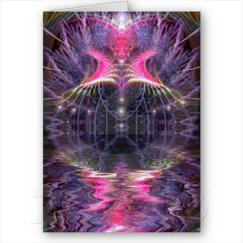 fractalART card by Webgrrl